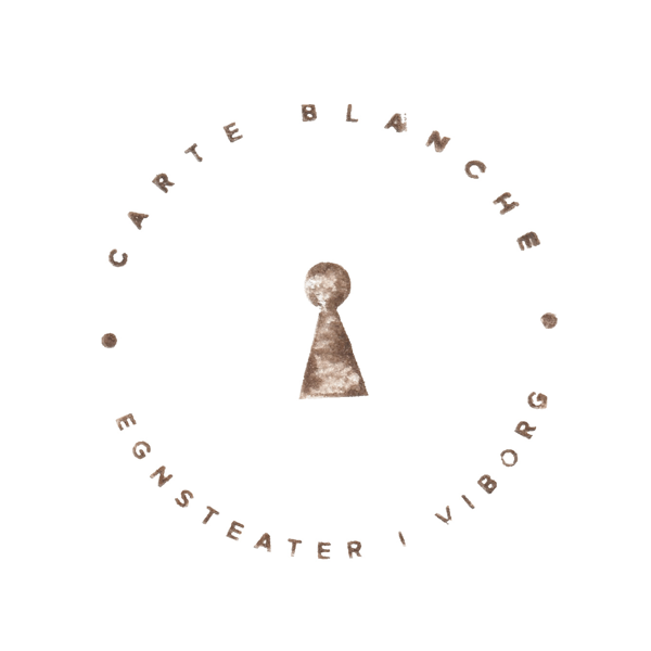 Logo for teatret carte blanche